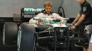 Nico Rosberg - Mercedes - Formel 1 - GP Bahrain - 31. März 2016