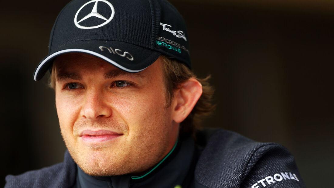 Nico Rosberg - Mercedes - Formel 1 - GP Bahrain - Sakhir - 3. April 2014