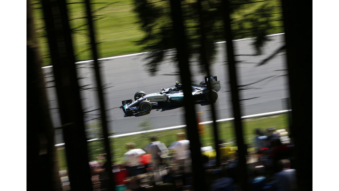 Nico Rosberg - Mercedes - Formel 1 - GP Belgien - Spa-Francorchamps - 22. August 2015