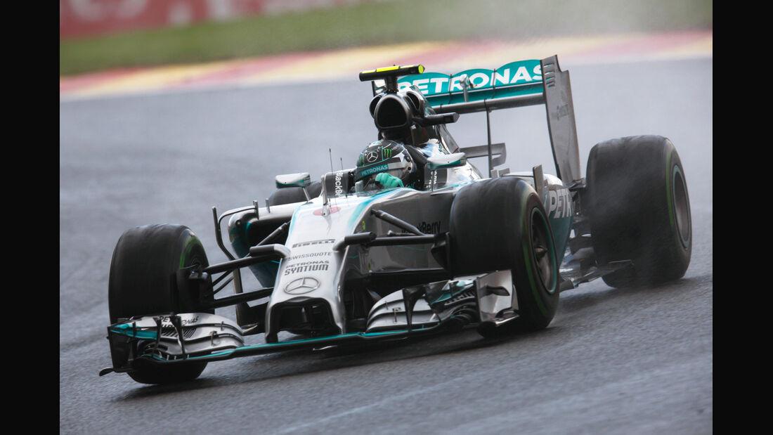 Nico Rosberg - Mercedes - Formel 1 - GP Belgien - Spa-Francorchamps - 23. November 2014
