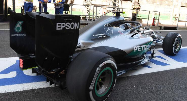 Nico Rosberg - Mercedes - Formel 1 - GP Belgien - Spa-Francorchamps - 26. August 2016