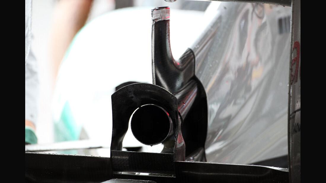 Nico Rosberg - Mercedes - Formel 1 - GP Belgien - Spa-Francorchamps - 31. August 2012