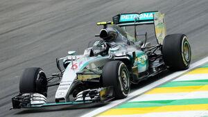 Nico Rosberg - Mercedes - Formel 1 - GP Brasilien- 13. November 2015