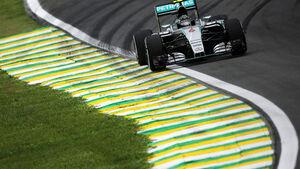 Nico Rosberg - Mercedes - Formel 1 - GP Brasilien - 13. November 2015