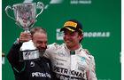 Nico Rosberg - Mercedes  - Formel 1 - GP Brasilien- 15. November 2015