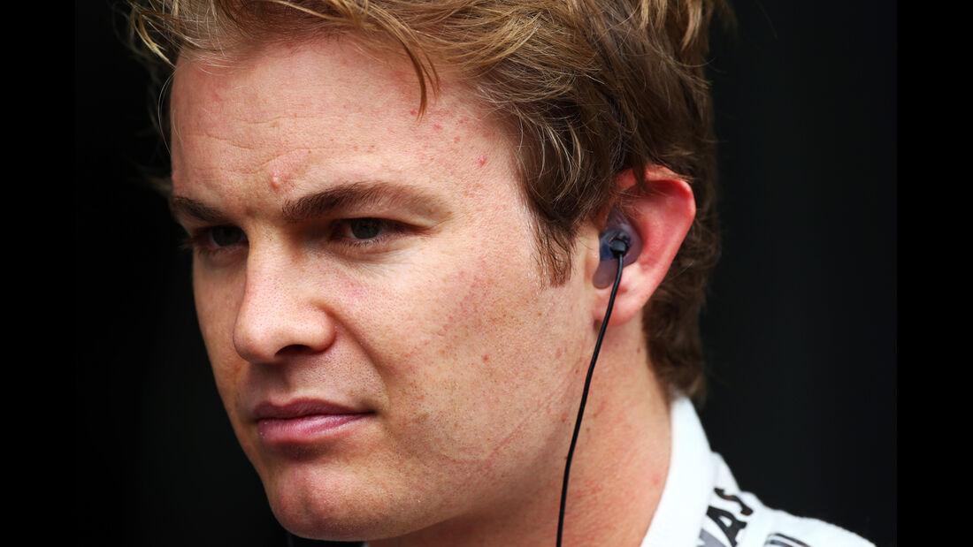 Nico Rosberg - Mercedes - Formel 1 - GP Brasilien - 22. November 2013