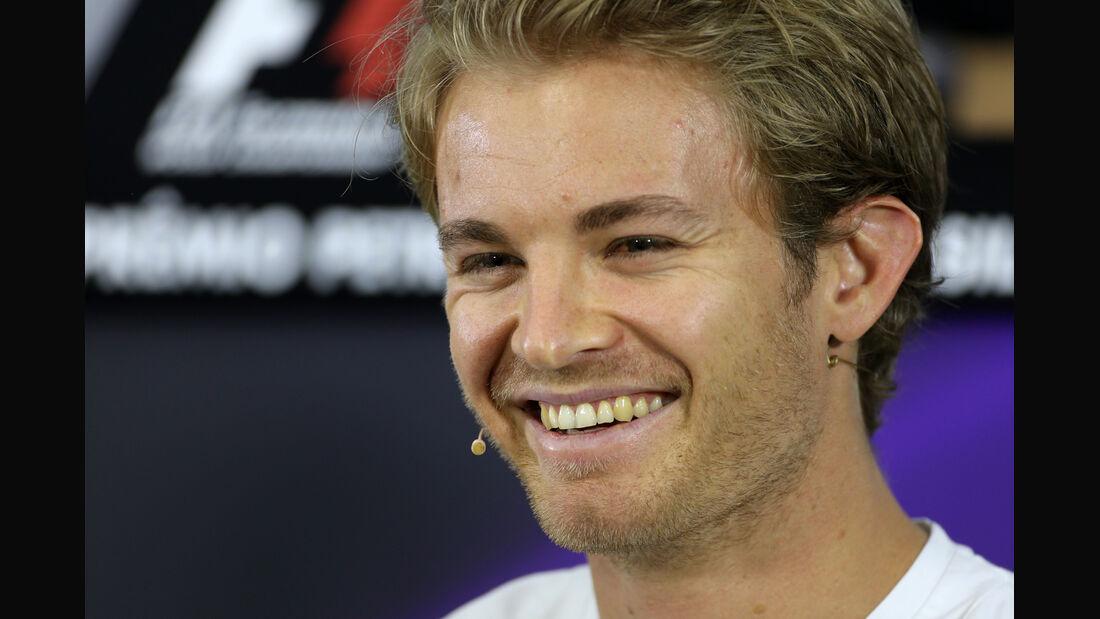Nico Rosberg - Mercedes - Formel 1 - GP Brasilien - 6. November 2014
