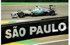 Nico Rosberg - Mercedes - Formel 1 - GP Brasilien - Sao Paulo - 23. November 2012