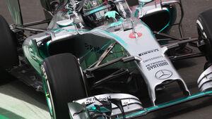 Nico Rosberg - Mercedes - Formel 1 - GP Brasilien - Sao Paulo - 7. November 2014