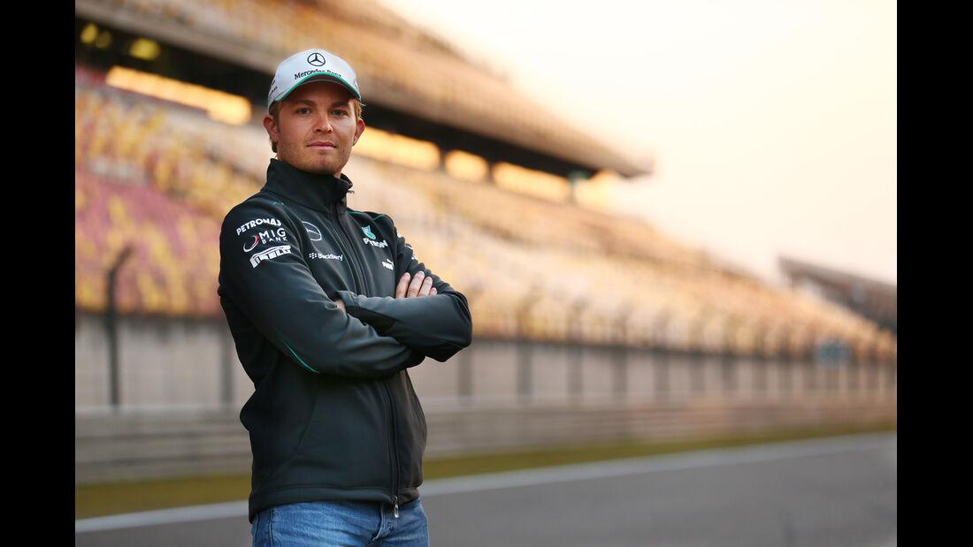 Nico Rosberg - Mercedes - Formel 1 - GP China - 11. April 2013