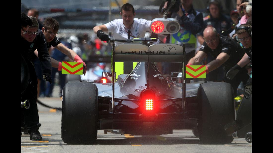 Nico Rosberg - Mercedes - Formel 1 - GP China - Shanghai - 10. April 2015