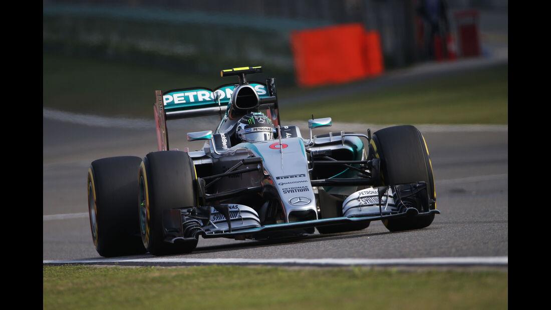 Nico Rosberg - Mercedes - Formel 1 - GP China - Shanghai - 11. April 2015