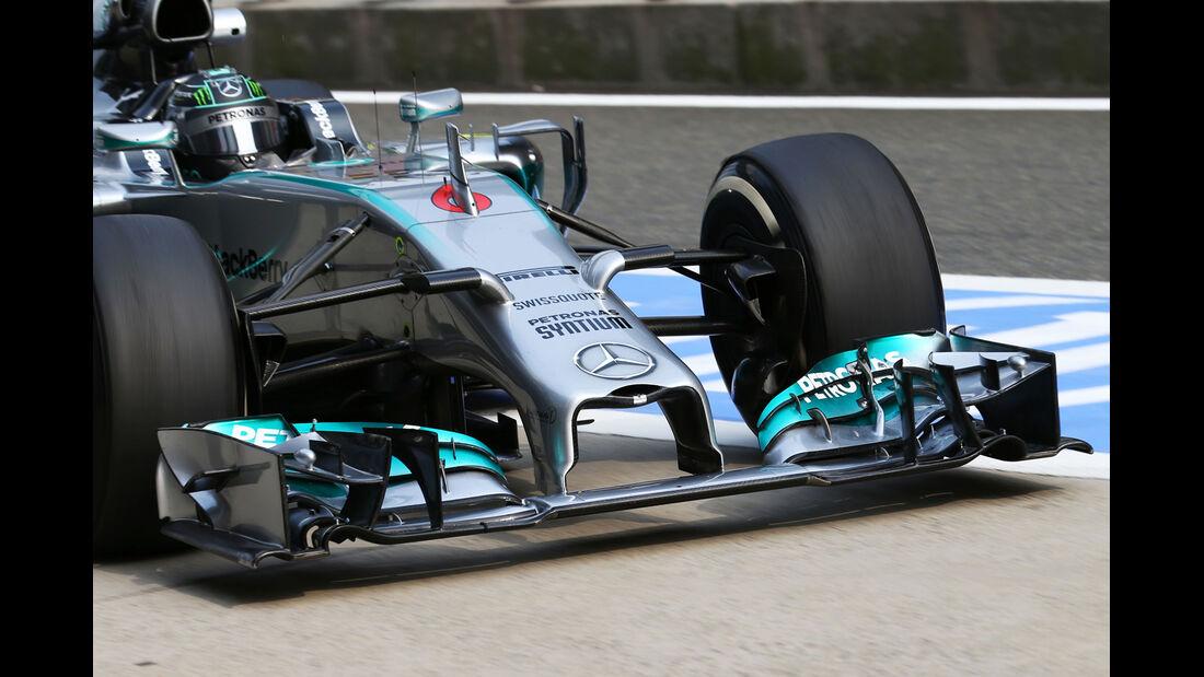 Nico Rosberg - Mercedes - Formel 1 - GP China - Shanghai - 18. April 2014