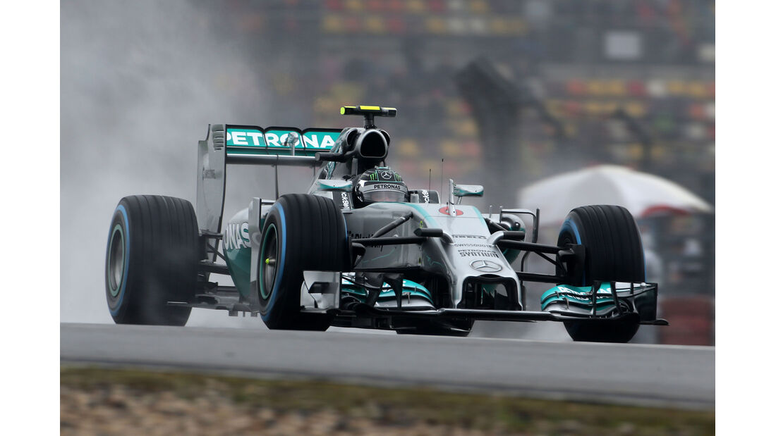 Nico Rosberg - Mercedes - Formel 1 - GP China - Shanghai - 19. April 2014