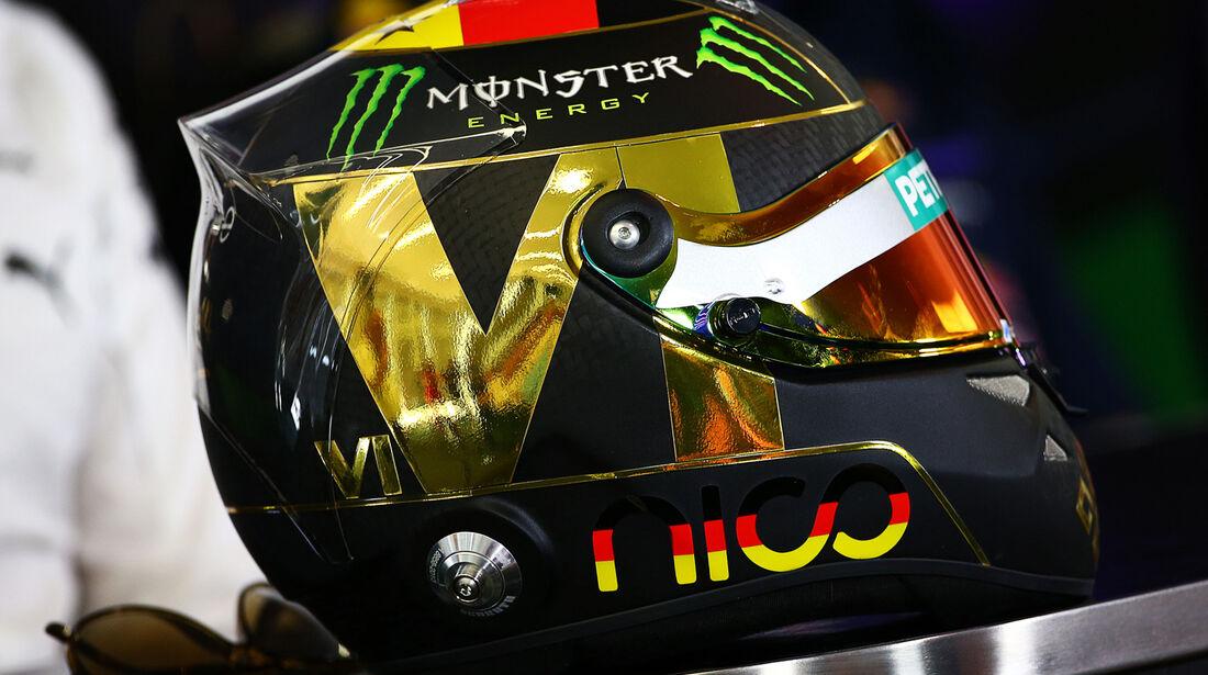 Nico Rosberg - Mercedes - Formel 1 - GP Deutschland - Hockenheim - 17. Juli 2014