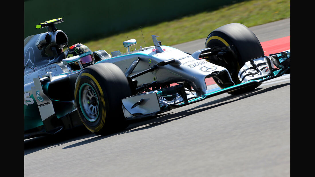 Nico Rosberg - Mercedes - Formel 1 - GP Deutschland - Hockenheim - 19. Juli 2014