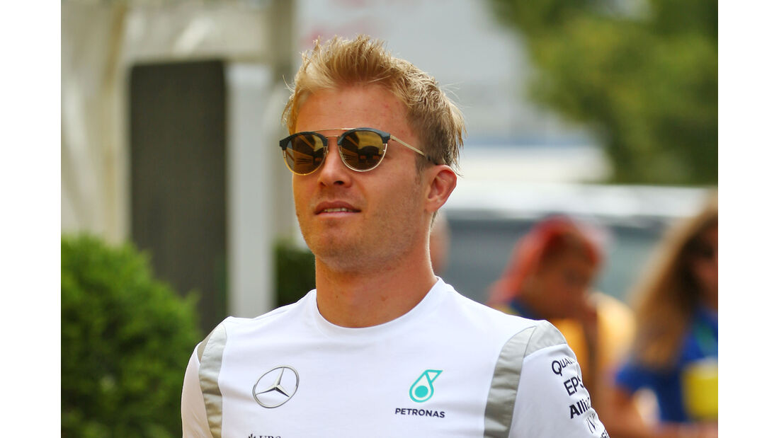 Nico Rosberg - Mercedes - Formel 1 - GP Deutschland - Hockenheim - 28. Juli 2016