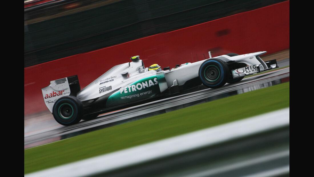 Nico Rosberg - Mercedes - Formel 1 - GP England - Silverstone - 6. Juli 2012