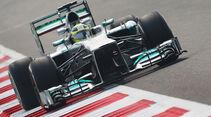 Nico Rosberg - Mercedes - Formel 1 - GP Indien - 25. Oktober 2013