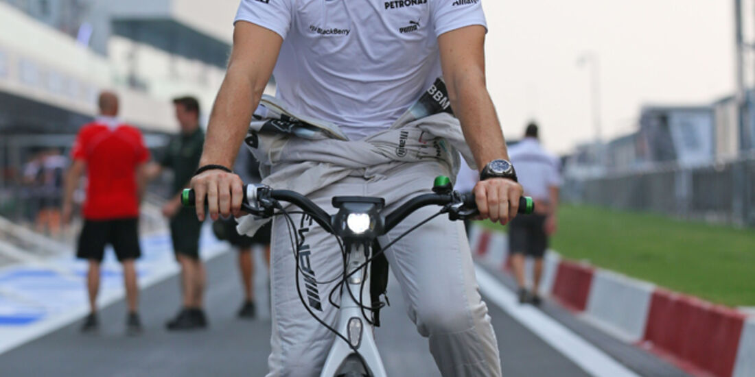 Nico Rosberg - Mercedes - Formel 1 - GP Indien - Delhi - 24. Oktober 2013