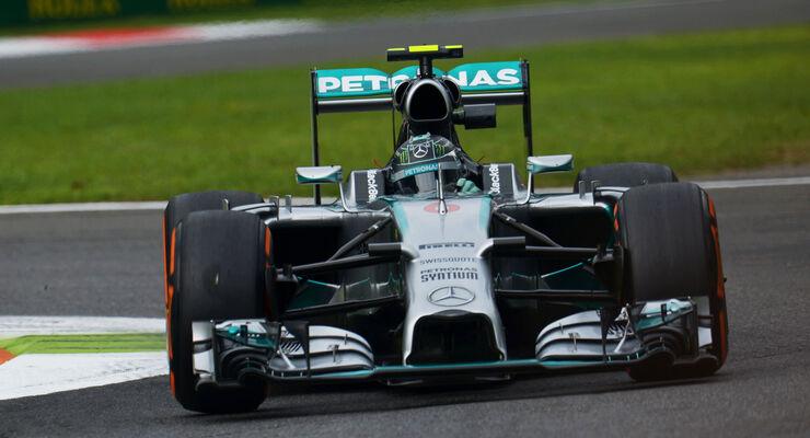 Nico Rosberg - Mercedes - Formel 1 - GP Italien - 5. September 2014
