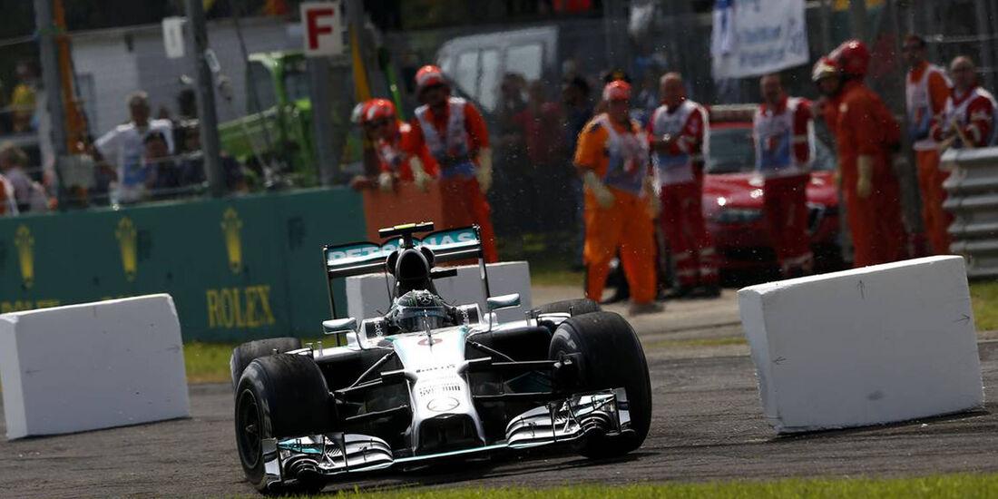 Nico Rosberg - Mercedes  - Formel 1 - GP Italien - 7. September 2014