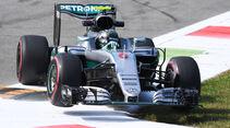 Nico Rosberg - Mercedes - Formel 1 - GP Italien - Monza - 2. September 2016