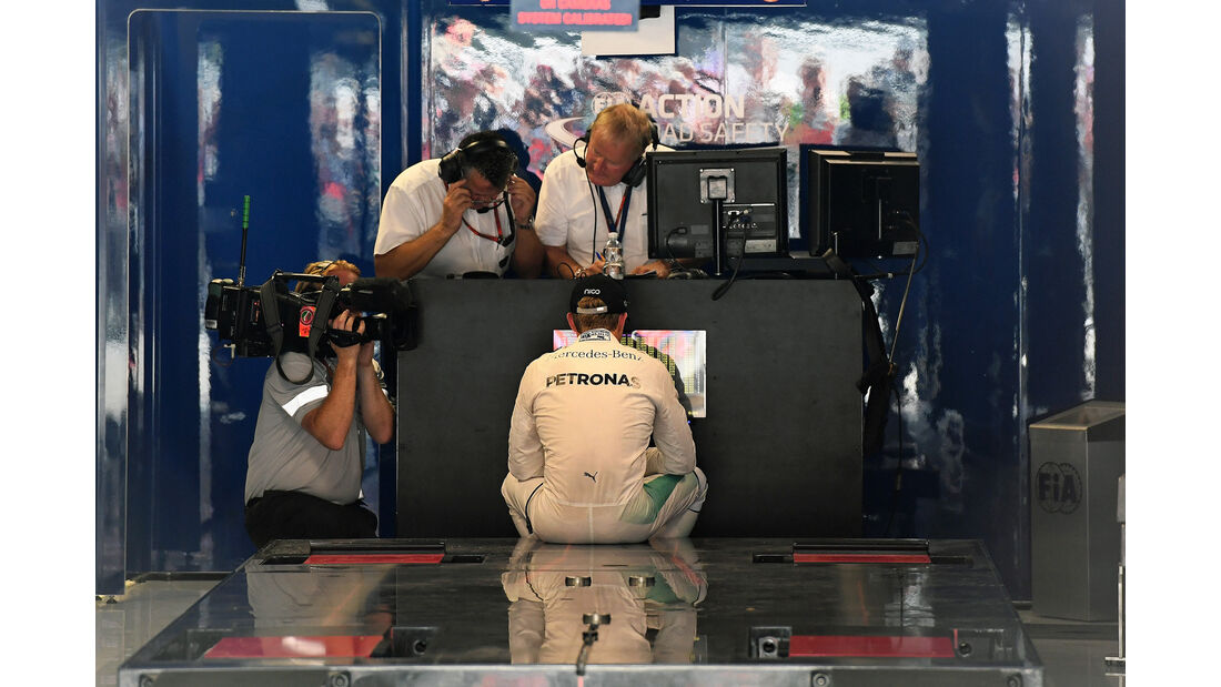 Nico Rosberg - Mercedes - Formel 1 - GP Italien - Monza - 3. September 2016