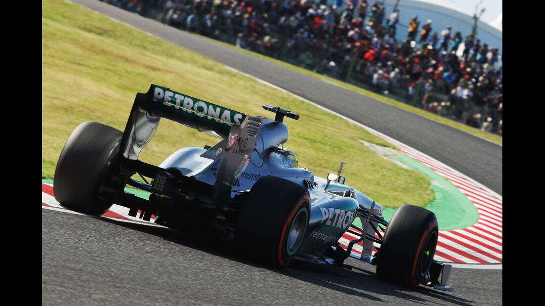 Nico Rosberg - Mercedes - Formel 1 - GP Japan - 12. Oktober 2013