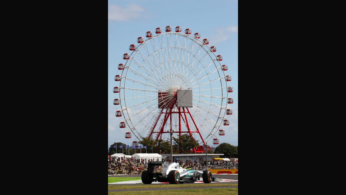 Nico Rosberg - Mercedes - Formel 1 - GP Japan 2013