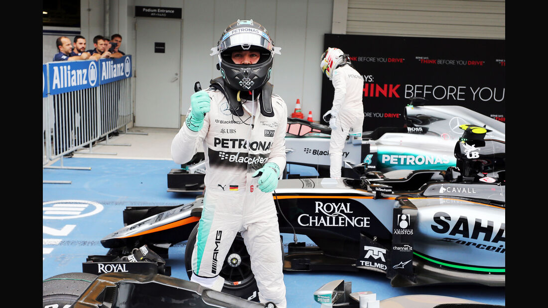 Nico Rosberg - Mercedes - Formel 1 - GP Japan - Suzuka - 26. September 2015