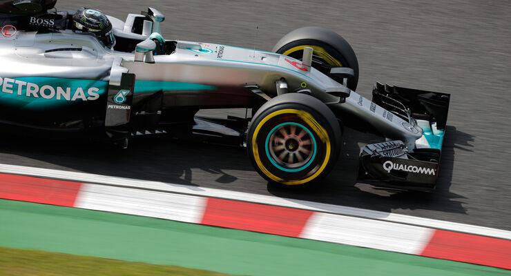 Nico Rosberg - Mercedes - Formel 1 - GP Japan - Suzuka - Freitag - 7.10.2016