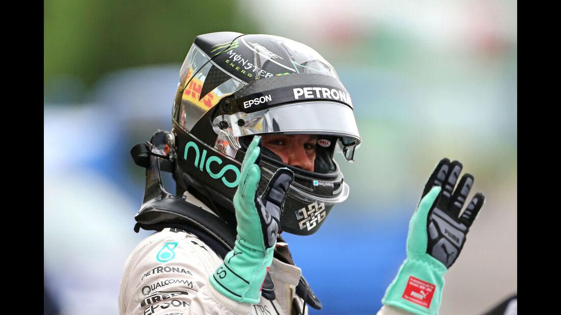 Nico Rosberg - Mercedes - Formel 1 - GP Japan - Suzuka - Qualifying - Samstag - 8.10.2016