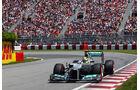 Nico Rosberg - Mercedes - Formel 1 - GP Kanada - 10. Juni 2012