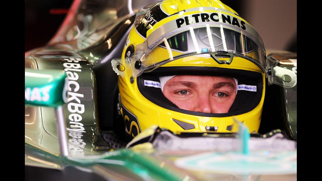 Nico Rosberg - Mercedes - Formel 1 - GP Kanada - 7. Juni 2013