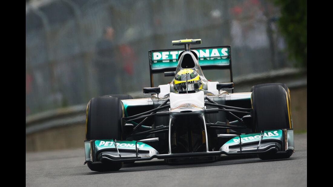 Nico Rosberg - Mercedes - Formel 1 - GP Kanada - 8. Juni 2012