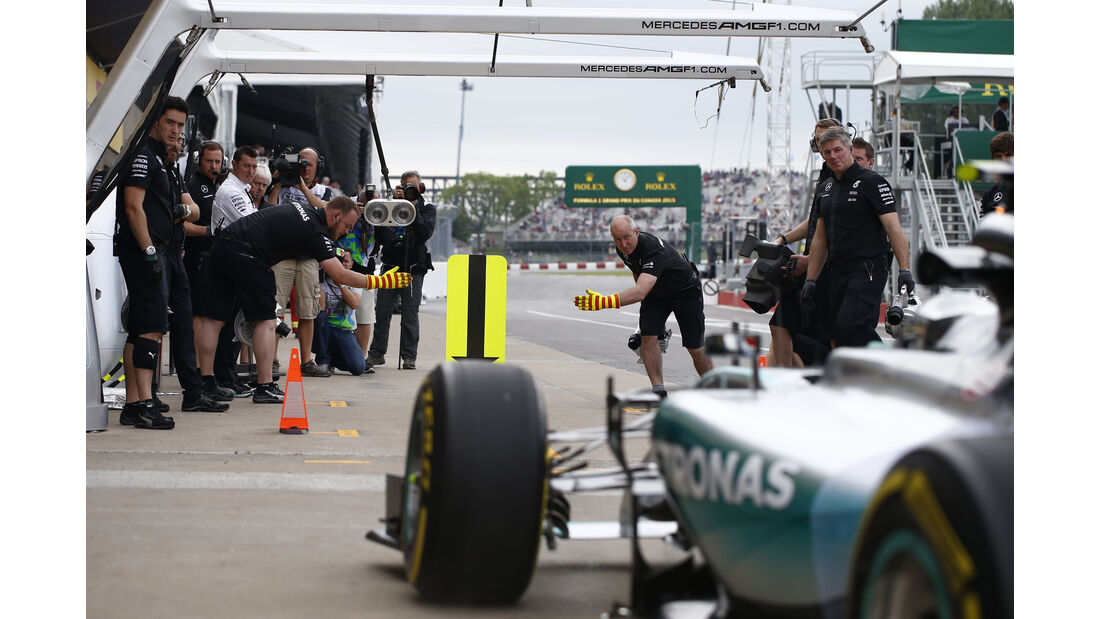 Nico Rosberg - Mercedes - Formel 1 - GP Kanada - Montreal - 5. Juni 2015