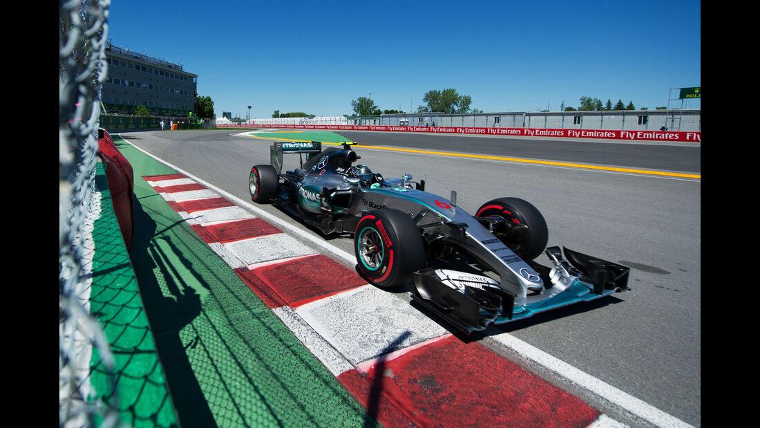 Nico Rosberg - Mercedes - Formel 1 - GP Kanada - Montreal - 6. Juni 2015