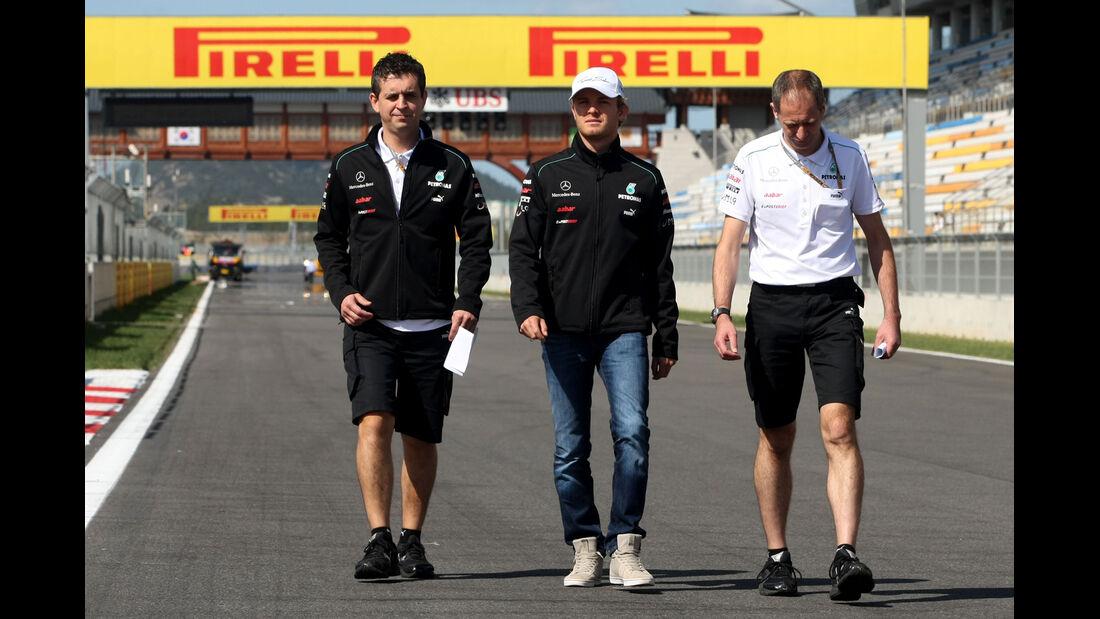 Nico Rosberg - Mercedes - Formel 1 - GP Korea - 11. Oktober 2012