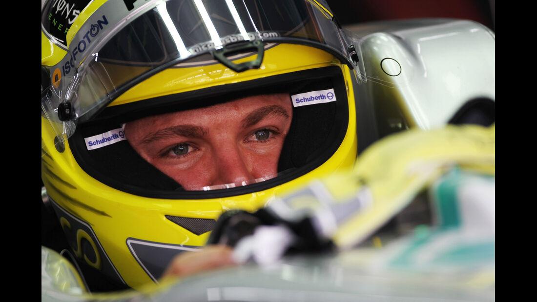 Nico Rosberg - Mercedes - Formel 1 - GP Korea - 13. Oktober 2012