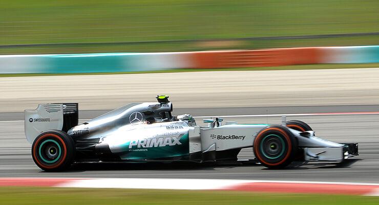 Nico Rosberg - Mercedes - Formel 1 - GP Malaysia - Sepang - 28. März 2014