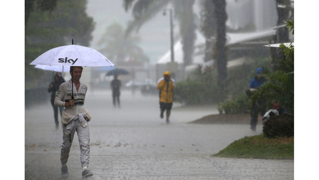 Nico Rosberg - Mercedes - Formel 1 - GP Malaysia - Sepang - 29. März 2014