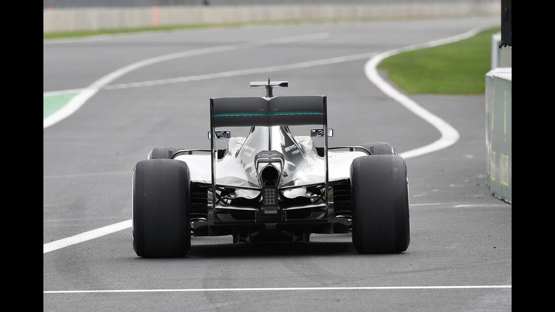 Nico Rosberg - Mercedes - Formel 1 - GP Mexiko - 28. Oktober 2016