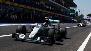 Nico Rosberg - Mercedes - Formel 1 - GP Mexiko - 29. Oktober 2016