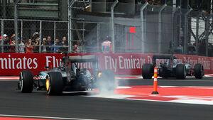 Nico Rosberg - Mercedes - Formel 1 - GP Mexiko - 30. Oktober 2015