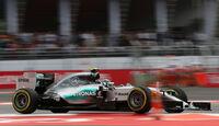 Nico Rosberg - Mercedes - Formel 1 - GP Mexiko - 31. Oktober 2015