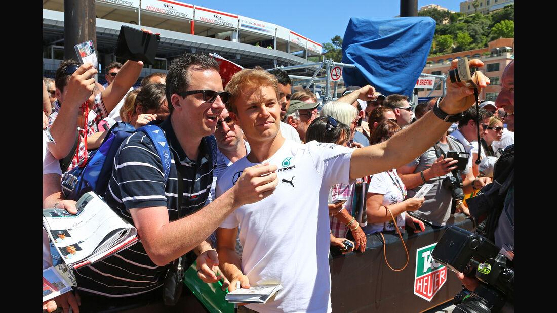 Nico Rosberg - Mercedes - Formel 1 - GP Monaco 2014