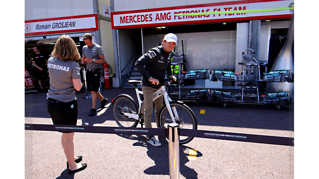 Nico Rosberg - Mercedes - Formel 1 - GP Monaco - 22. Mai 2013