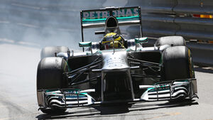Nico Rosberg - Mercedes - Formel 1 - GP Monaco - 23. Mai 2013