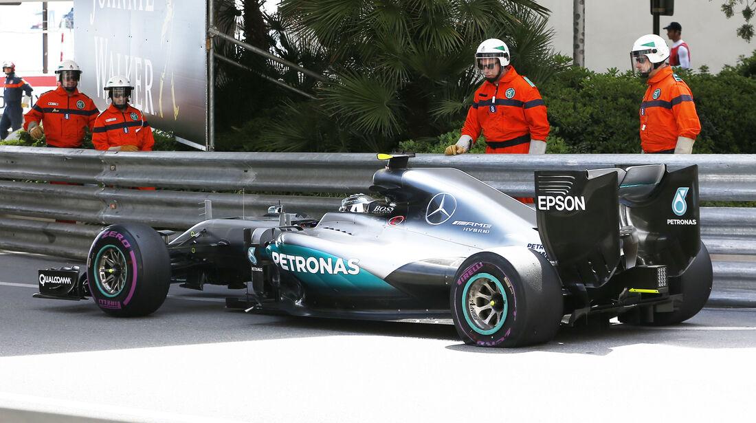 Nico Rosberg - Mercedes - Formel 1 - GP Monaco - 26. Mai 2016